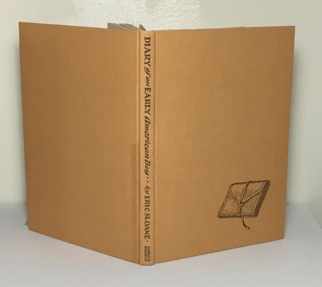 Diary Early American Boy, Noah Blake 1805 Eric Sloane - 2