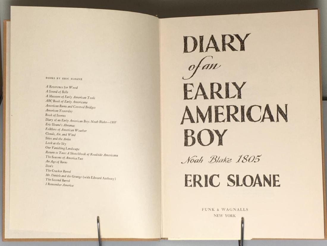 Diary Early American Boy, Noah Blake 1805 Eric Sloane - 4