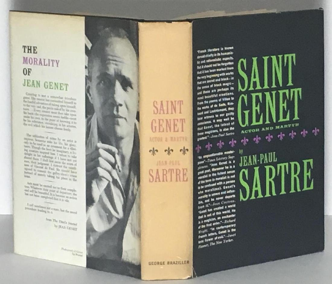 Saint Genet, Actor and Martyr Jean Paul Sartre
