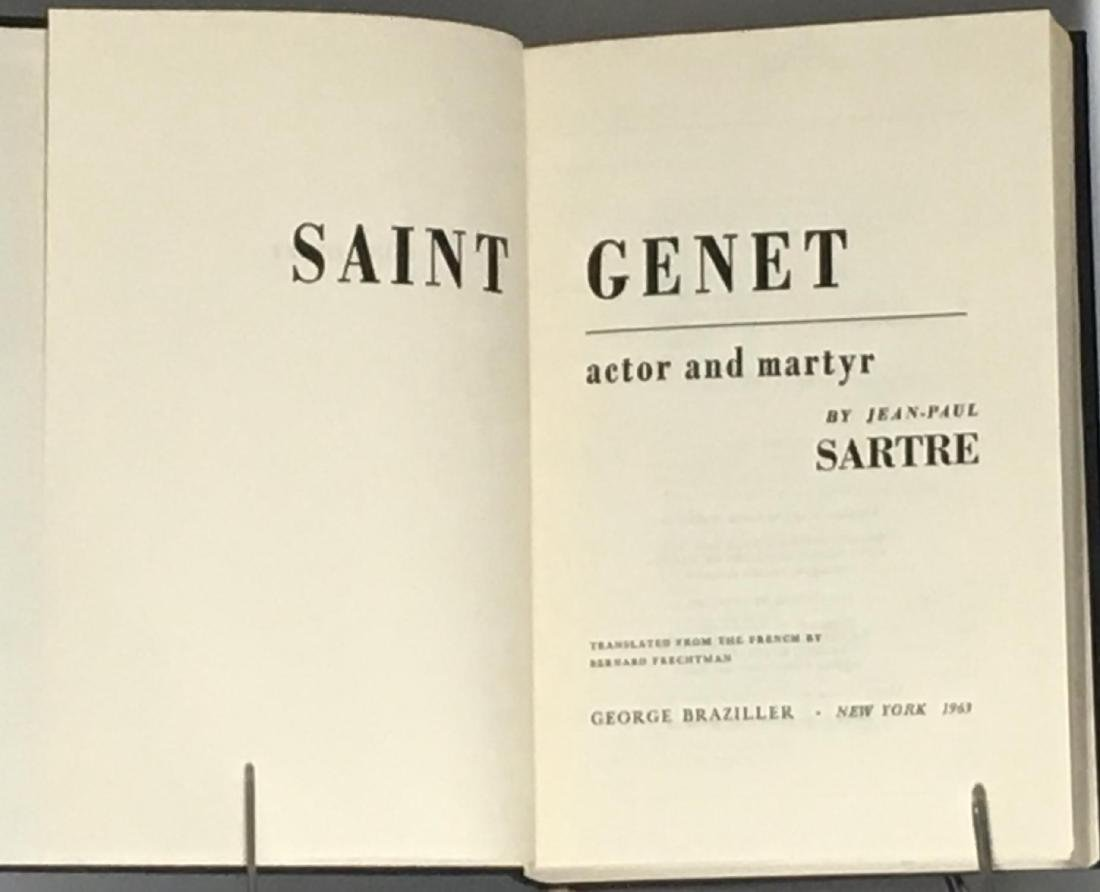 Saint Genet, Actor and Martyr Jean Paul Sartre - 3