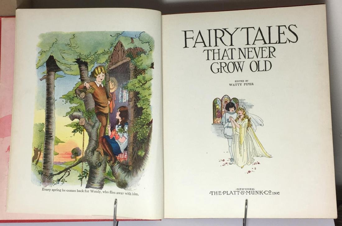 Fairy Tales That Never Grow Old Watty Piper (editor) - 2