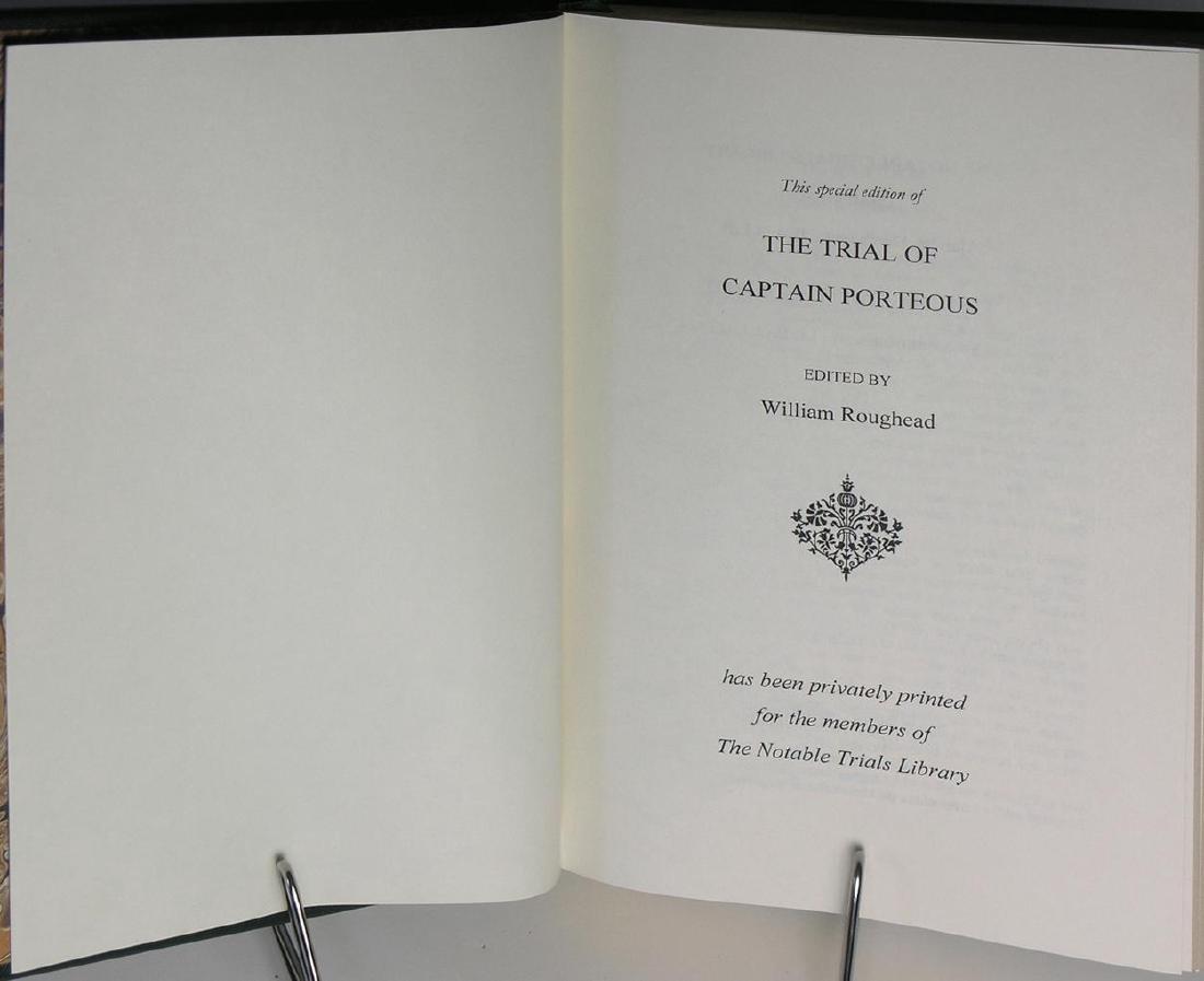The Trial of Captain Porteous William Roughead (editor) - 3