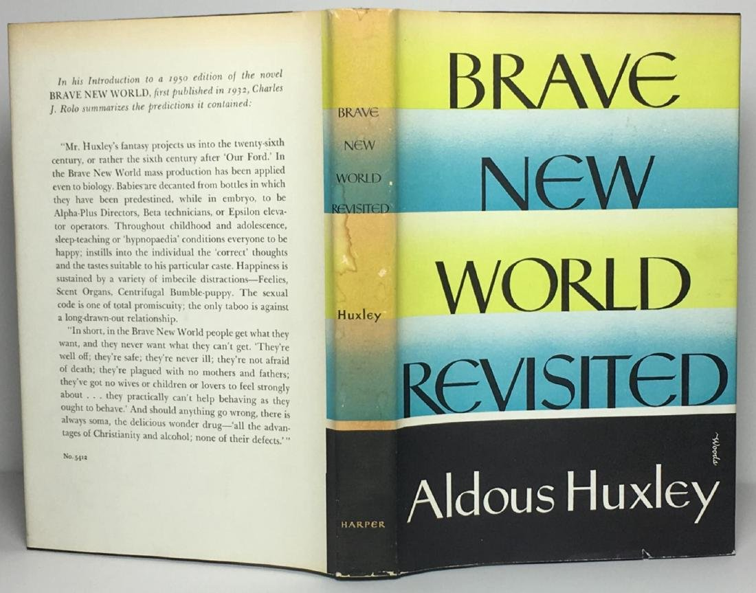 Brave New World Revisited Aldous Huxley