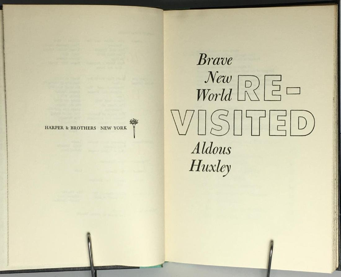 Brave New World Revisited Aldous Huxley - 3