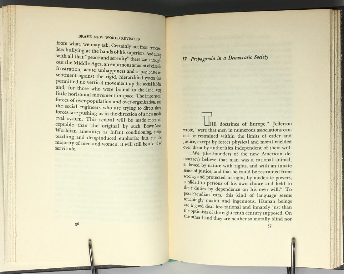Brave New World Revisited Aldous Huxley - 5