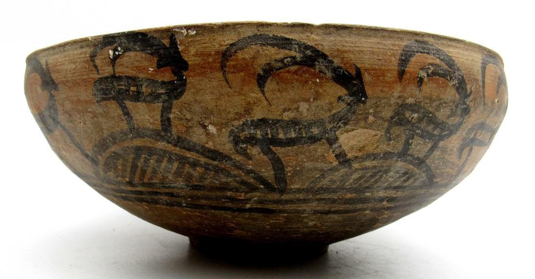 Ancient Indus Valley Bowl with a Deer Motif