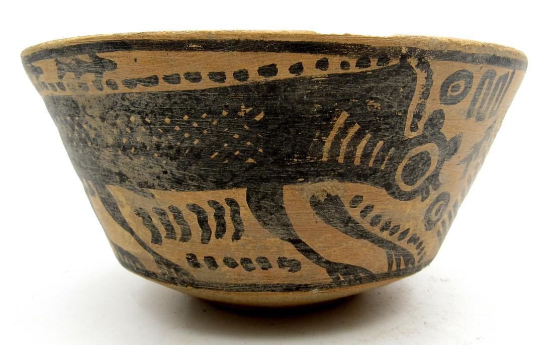 Ancient Indus Valley Bowl with a Monkey Motif