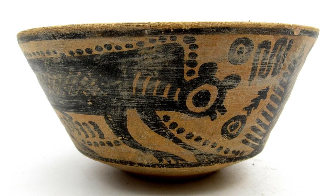 Ancient Indus Valley Bowl with a Monkey Motif - 2
