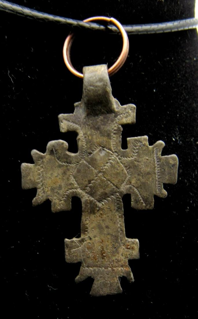 Medieval Crusaders Holy Land Cross Pendant