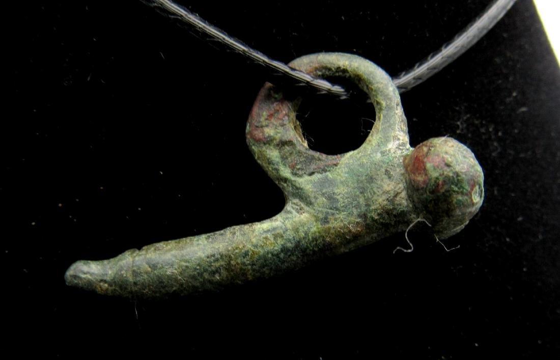 Ancient Roman Phallus Pendant - 2