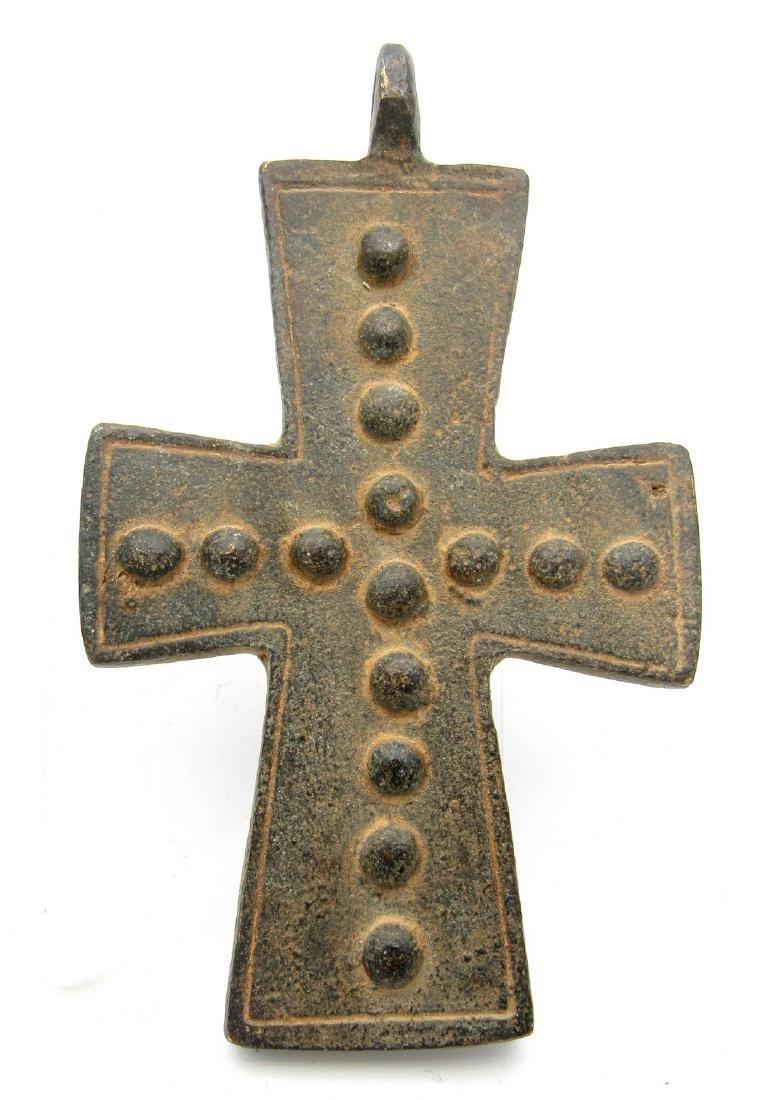 Medieval Knights Templar Holy Land Cross Pendant