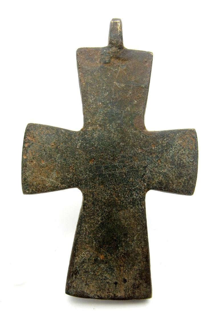 Medieval Knights Templar Holy Land Cross Pendant - 3