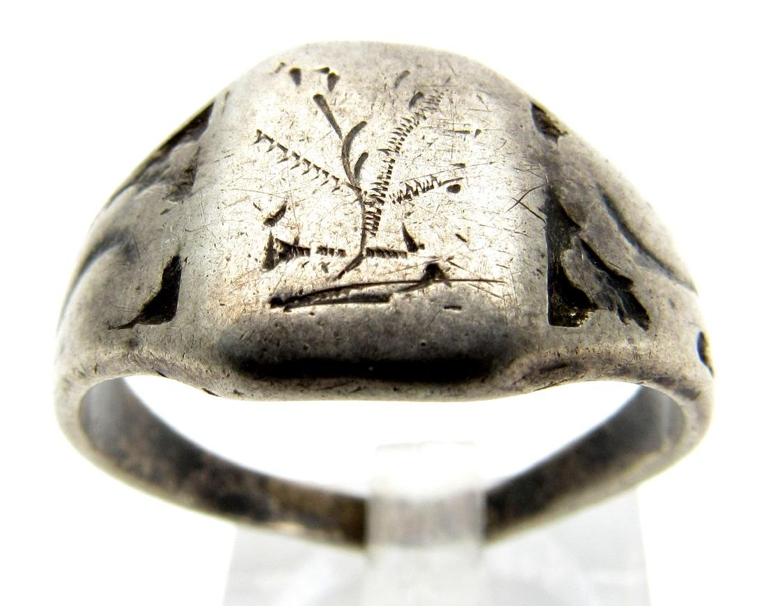 Post Medieval Silver Hallmarked Ring