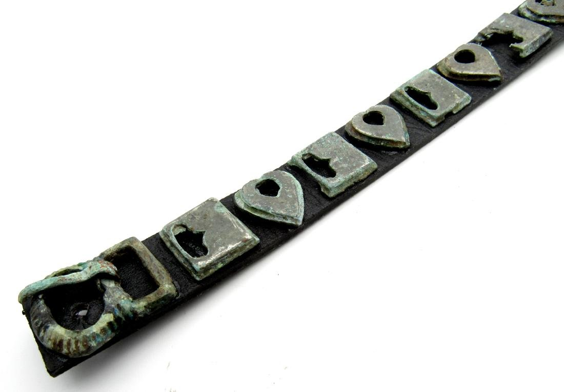 Medieval Viking Belt with Mounts - 2