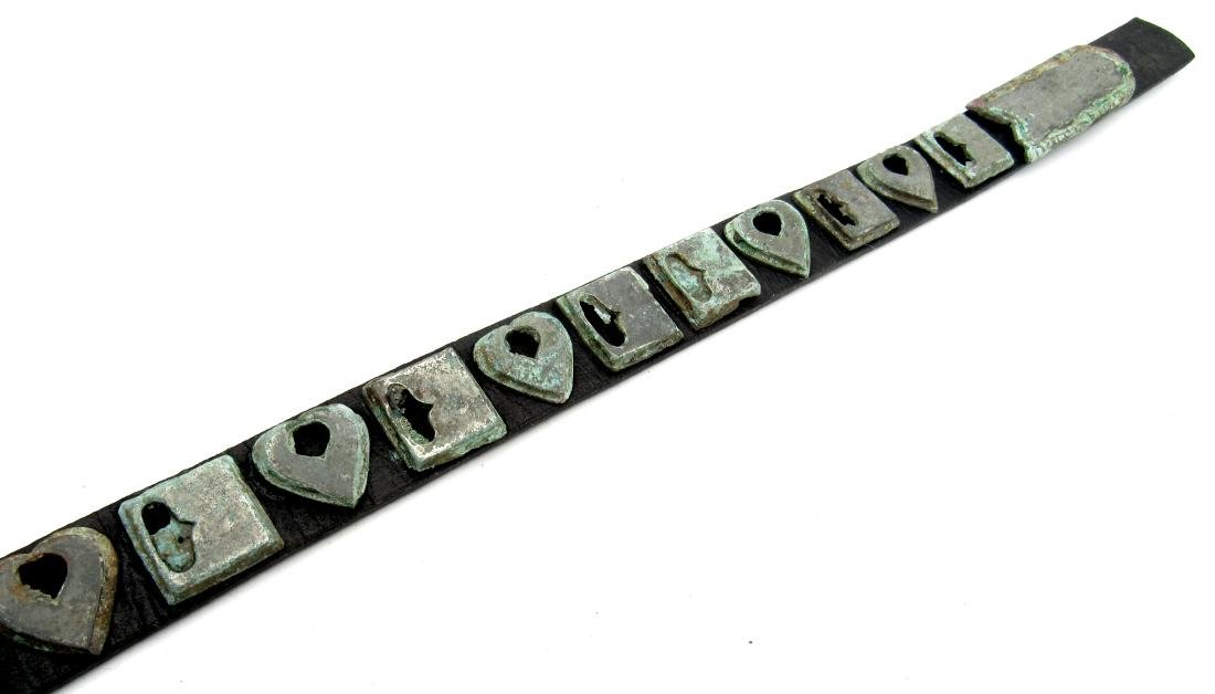 Medieval Viking Belt with Mounts - 5