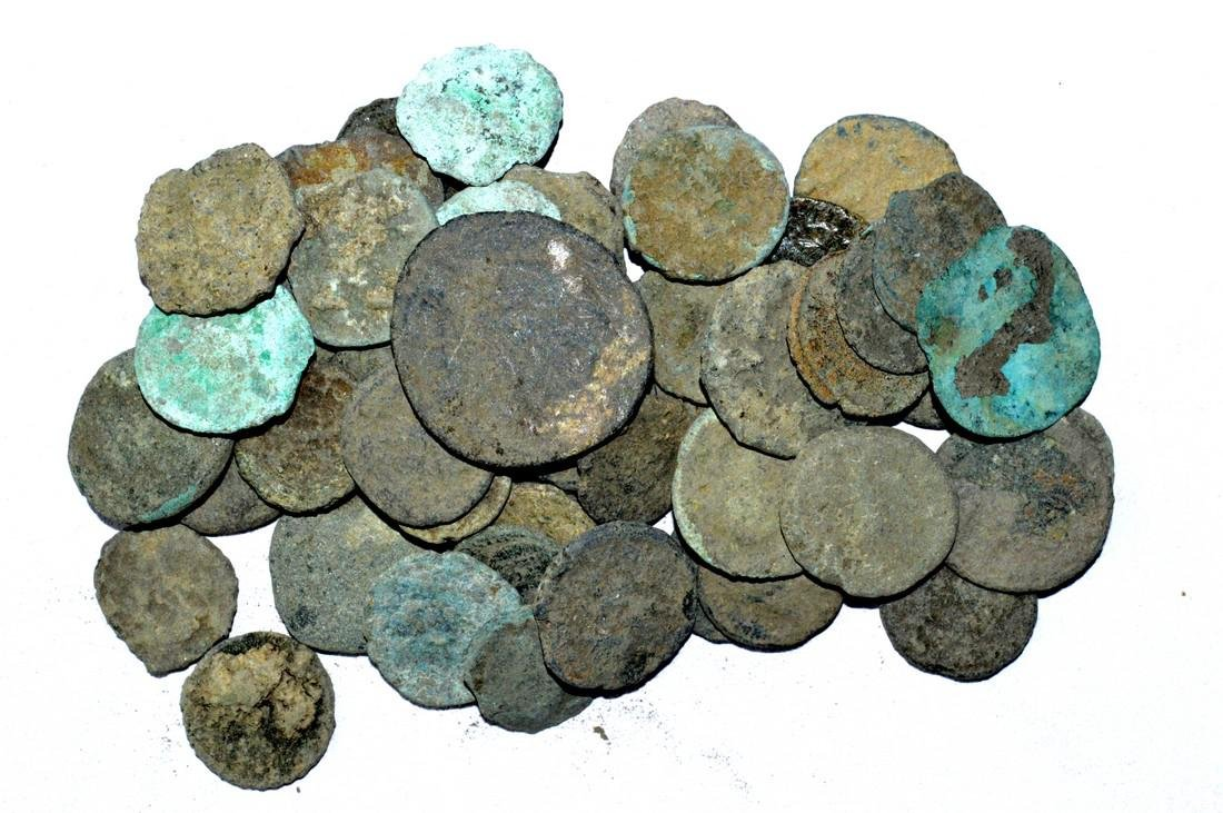 Lot of 50 Premium Quality Roman Coins for Cleaning - 3