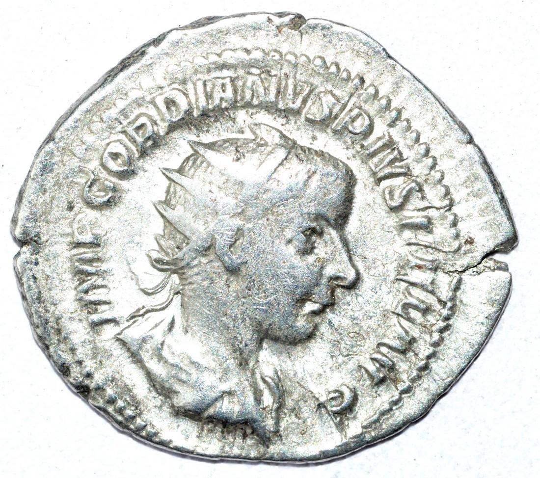 Gordian III AR Antoninianus, rv. Jupiter