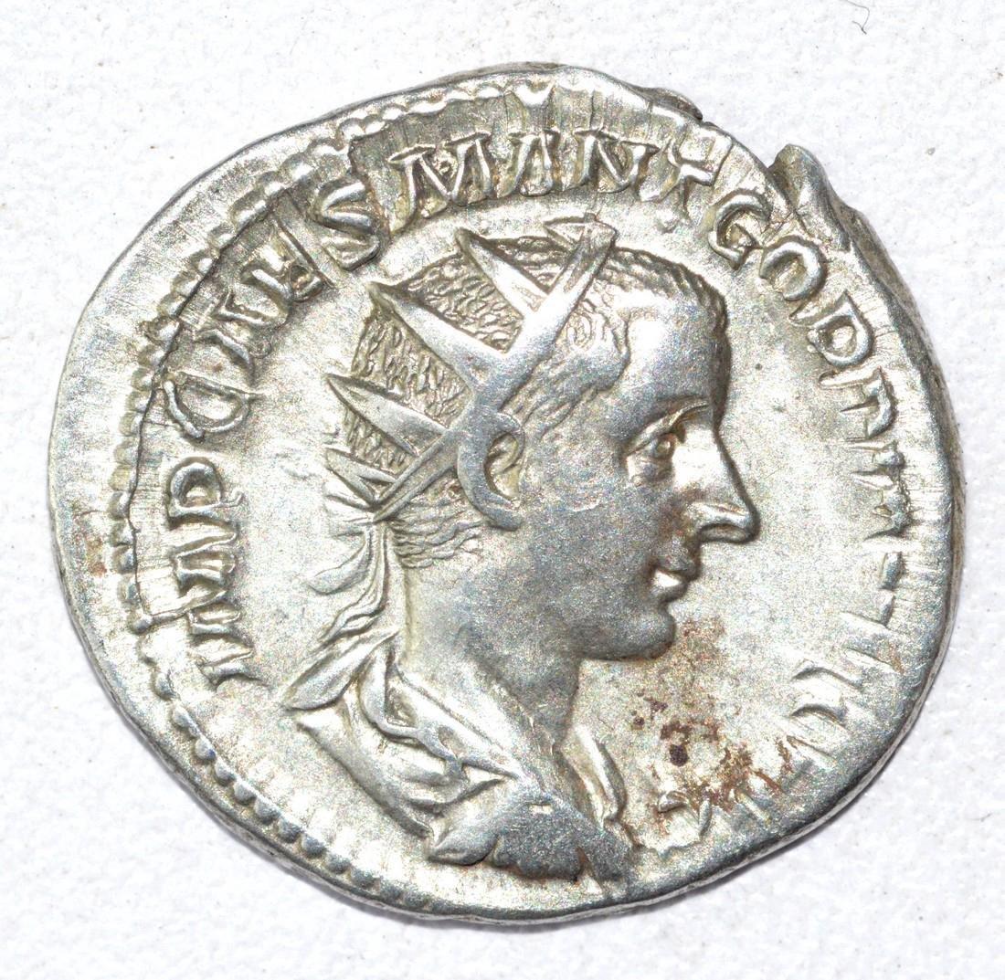 Gordian III AR Antoninianus, rv. Fides