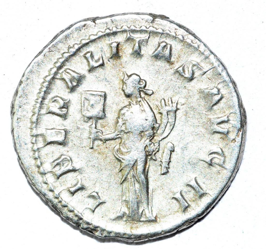 Gordian III AR Antoninianus, rv. Liberalitas - 2