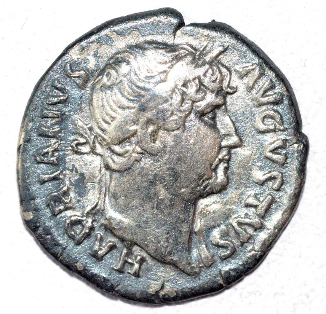 Hadrian AR Denarius, rv. Apollo