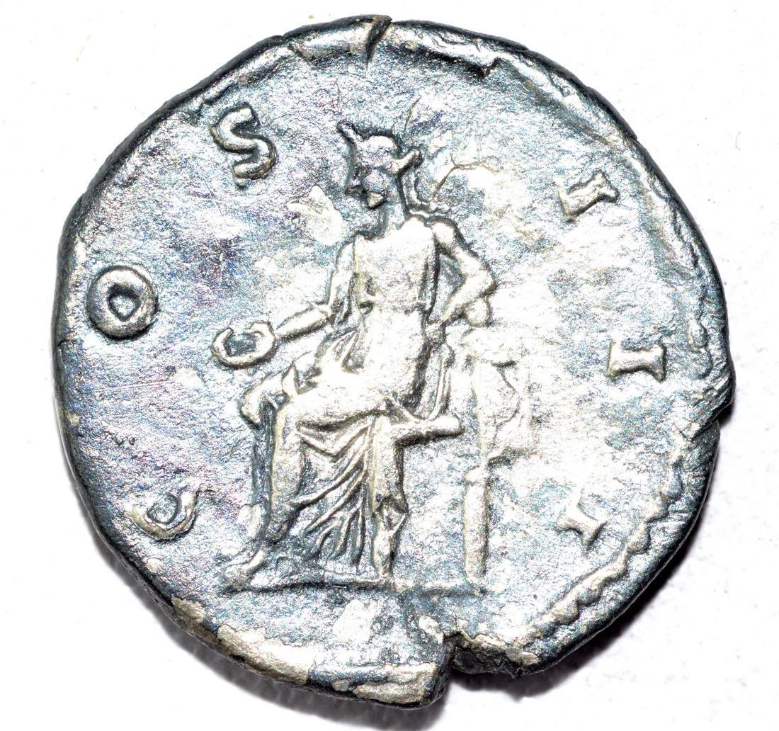 Hadrian AR Denarius, rv. Apollo - 2
