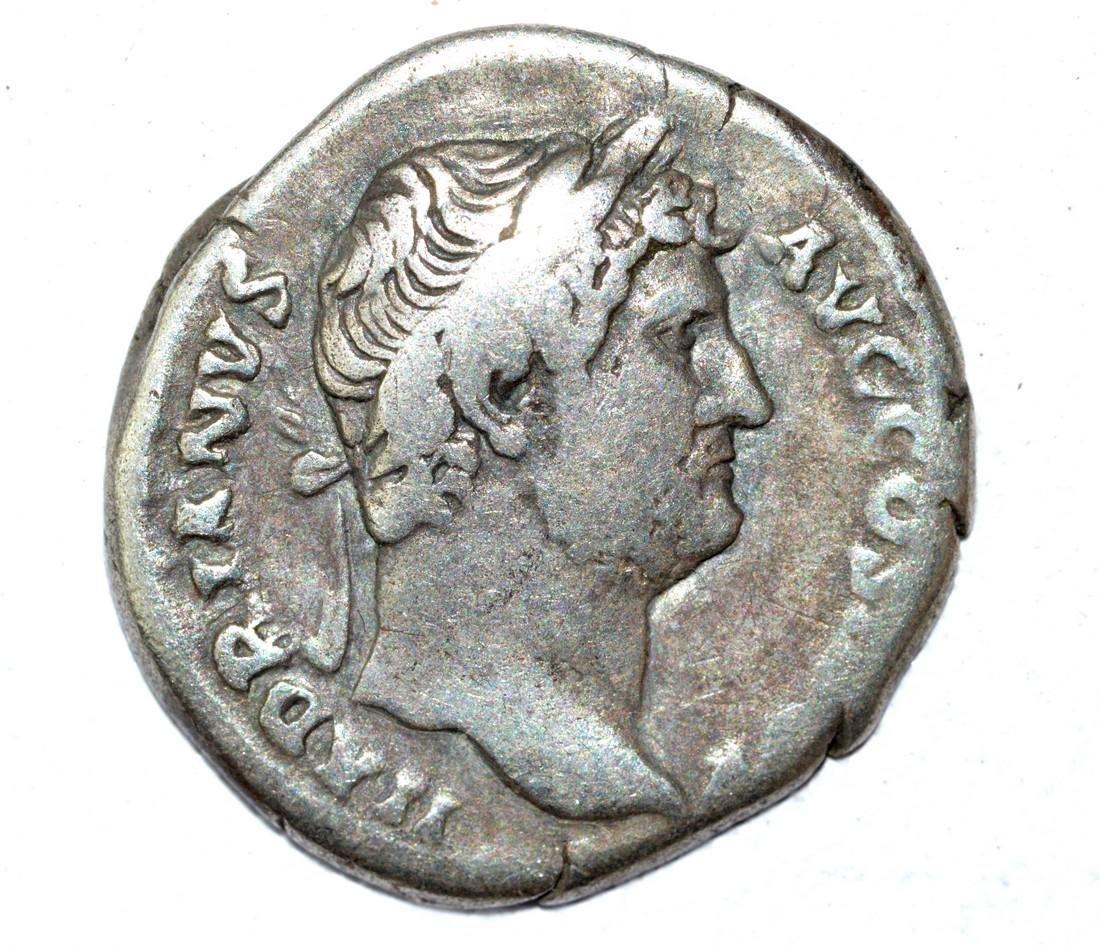 Hadrian AR Denarius, rv. Fortuna