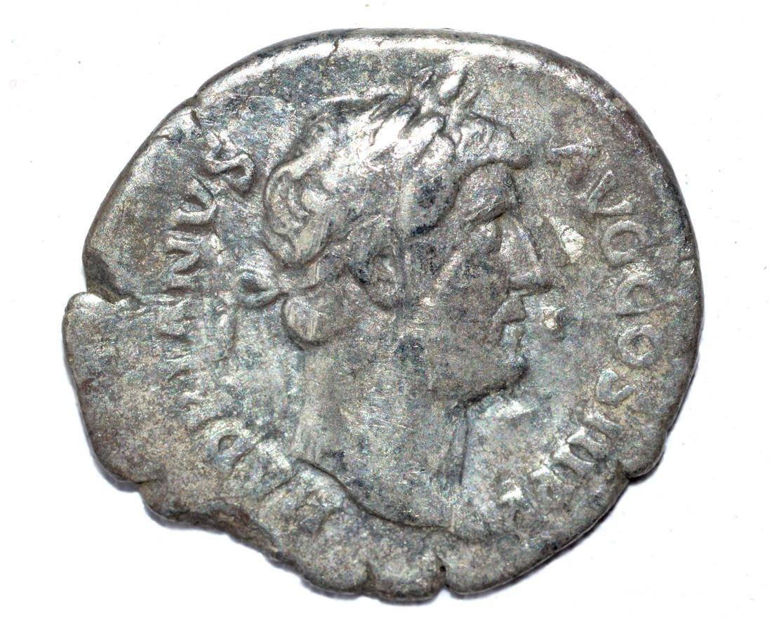 Hadrian AR Denarius, rv. Providentia
