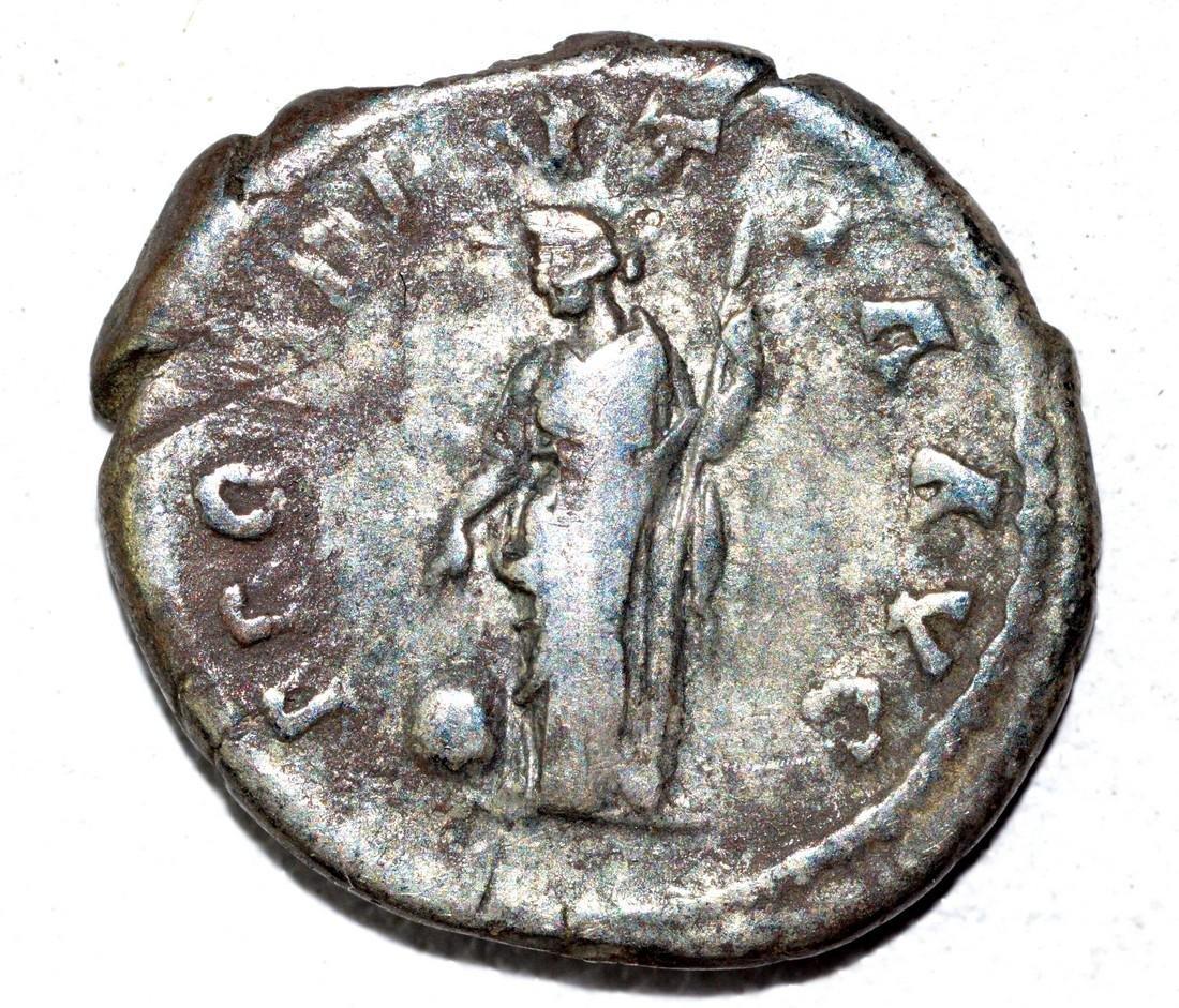Hadrian AR Denarius, rv. Providentia - 2