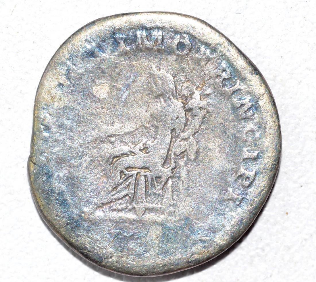 Trajan AR Denarius, rv. Fortuna - 2