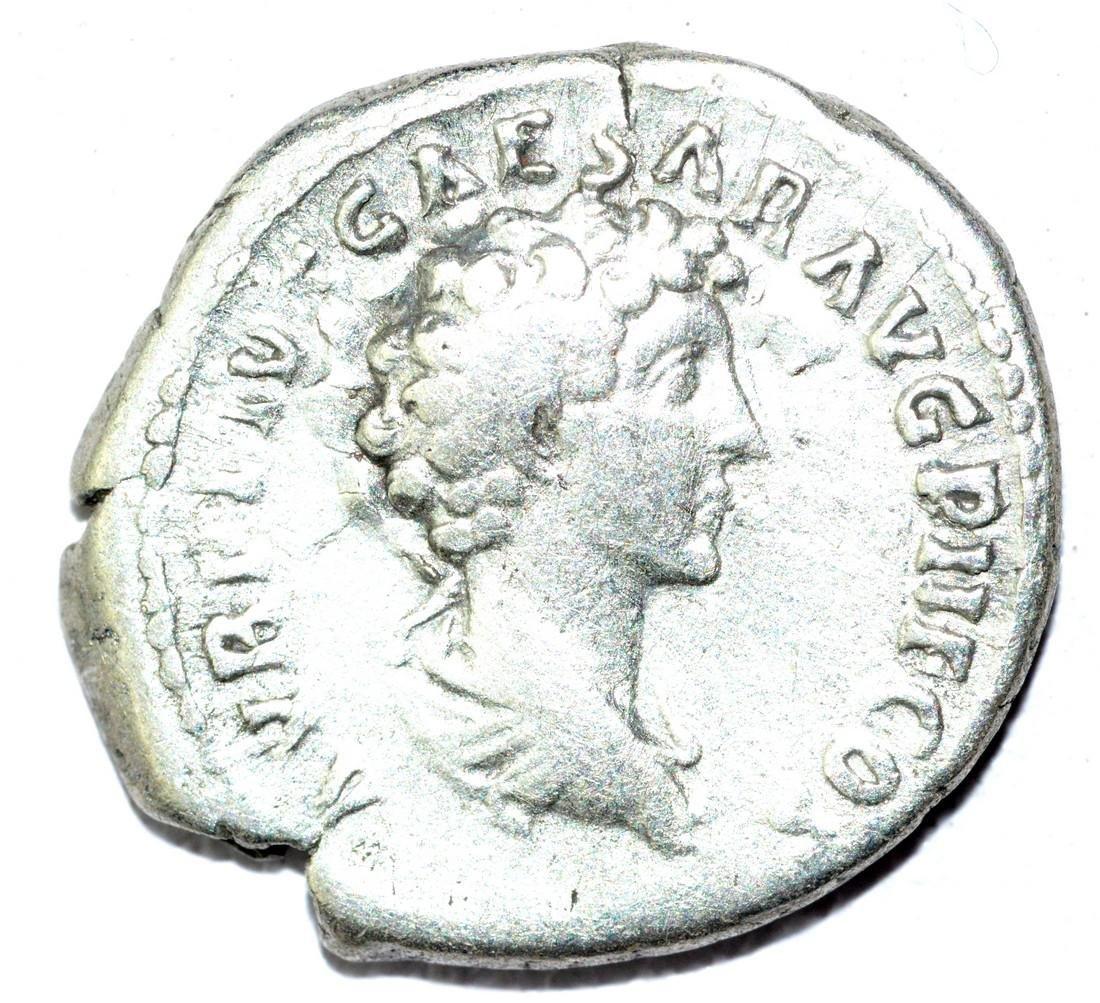 Antoninus Pius & Marcus Aurelius Denarius - Rare
