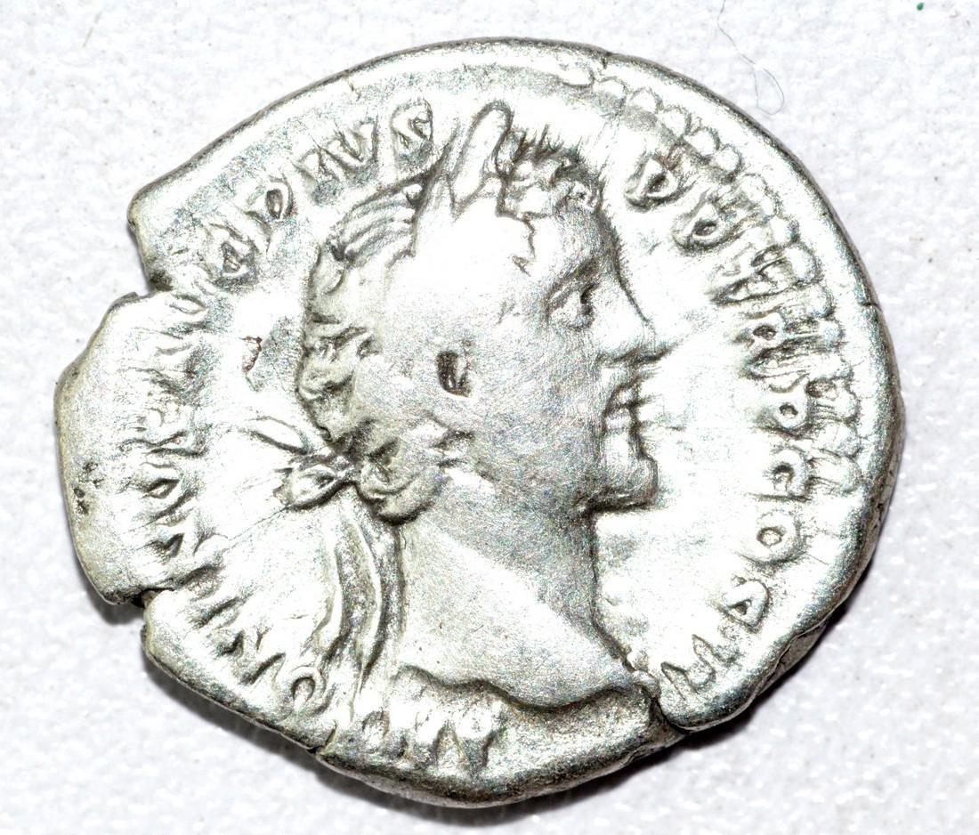 Antoninus Pius & Marcus Aurelius Denarius - Rare - 2