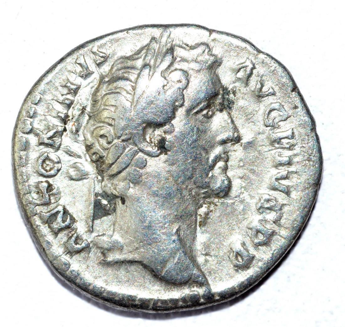 Antoninus Pius AR Denarius, rv. Anonna
