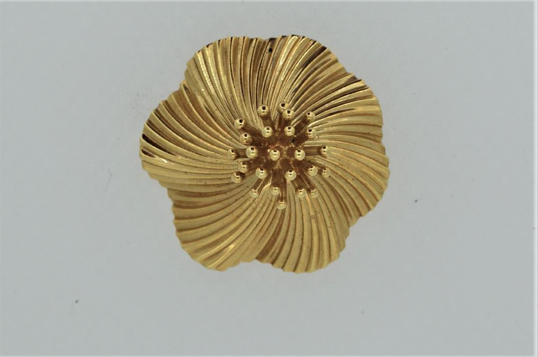 Tiffany & Co Ladies 14k Yellow Gold Pin/Pendant