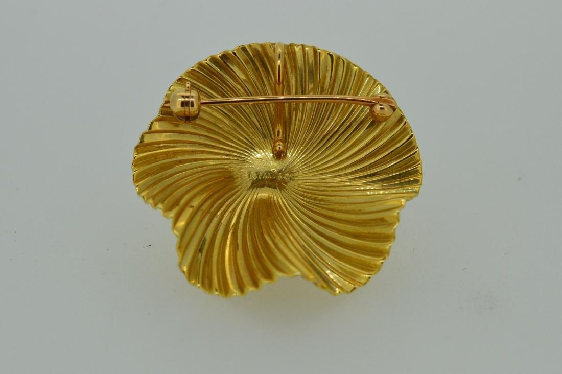 Tiffany & Co Ladies 14k Yellow Gold Pin/Pendant - 2