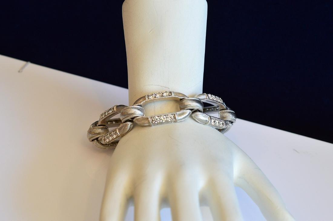 Judith Ripka Sterling Silver Cubic Zirconia Bracelet