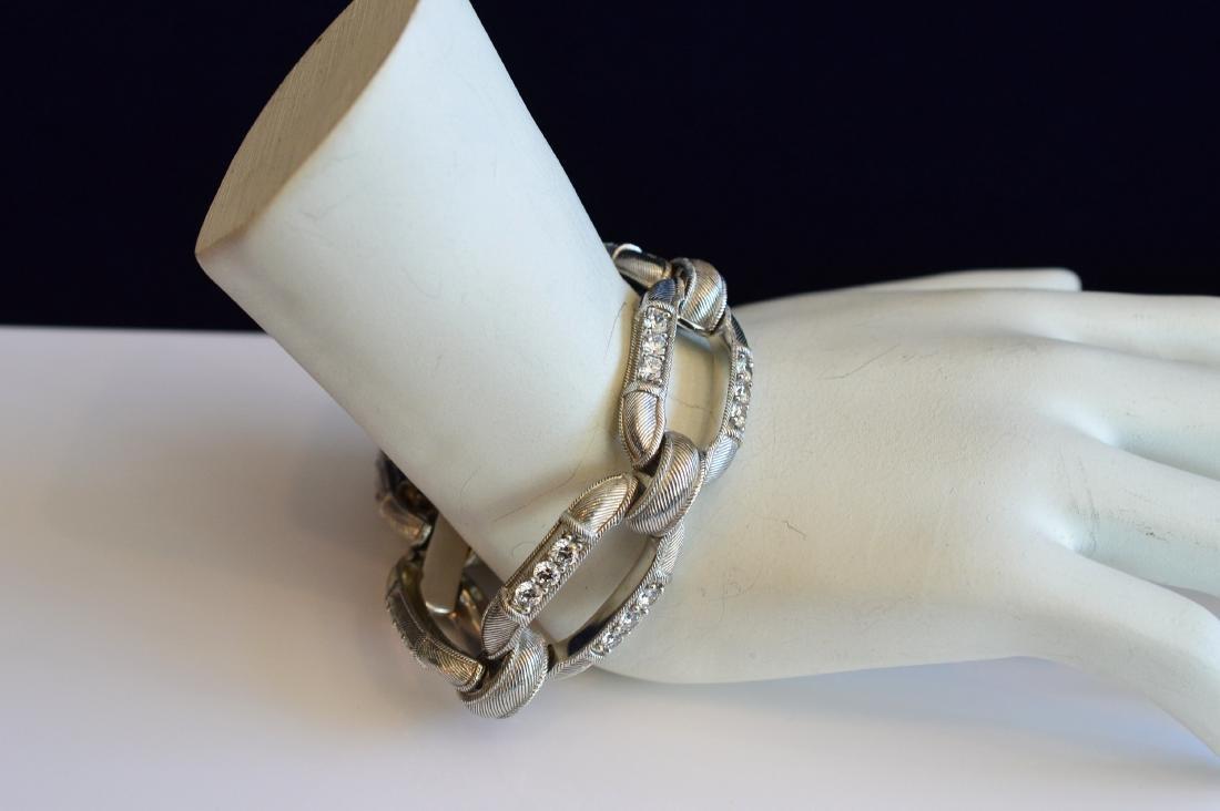 Judith Ripka Sterling Silver Cubic Zirconia Bracelet - 2