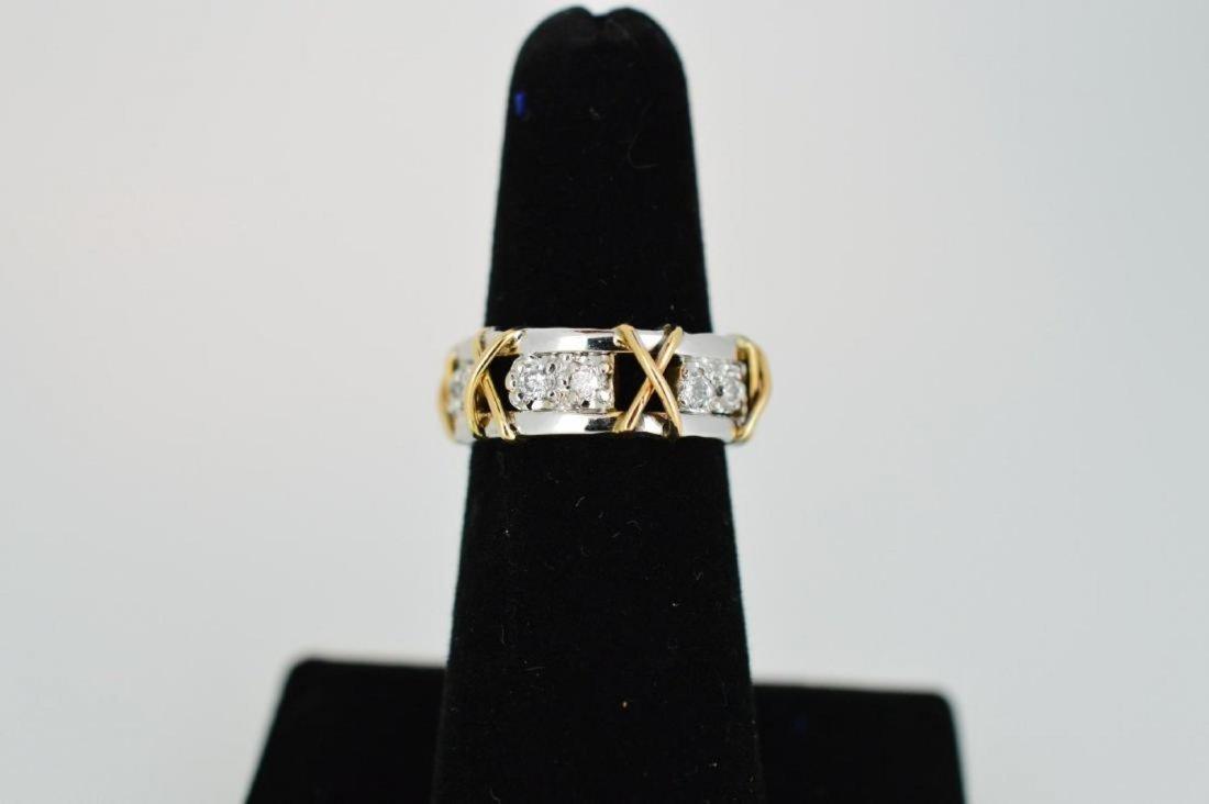 Ladies 14k Yellow/White Gold Diamond Ring, .24ctw