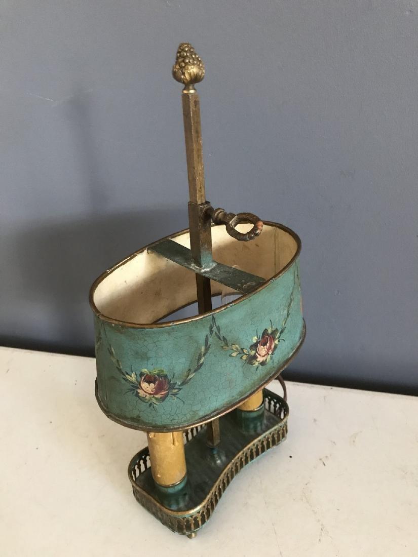 Diminutive Tole Shade Lamp - 3