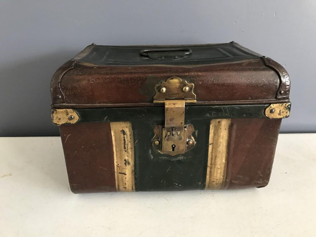 19th Century Hinged Document Box