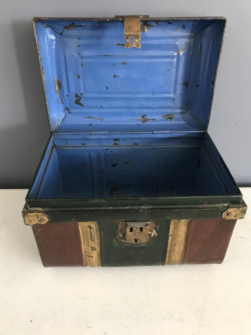 19th Century Hinged Document Box - 3
