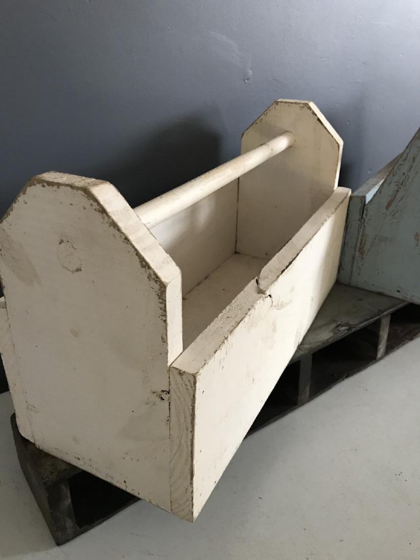 Blue Tool Box, White Tool Box, & Tool Box Shelf - 3