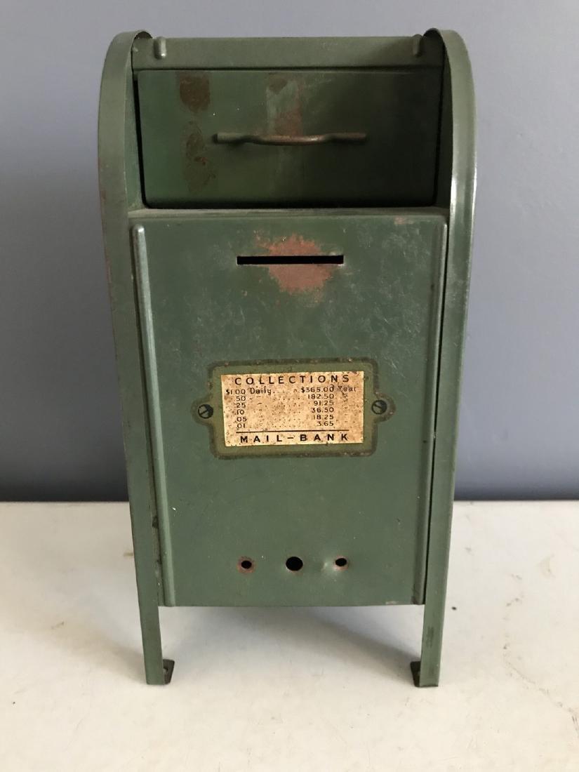 Tin Litho Mailbox Bank - 4