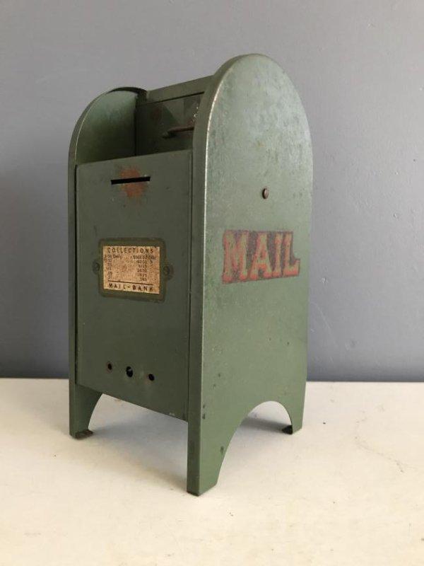 Tin Litho Mailbox Bank - 5