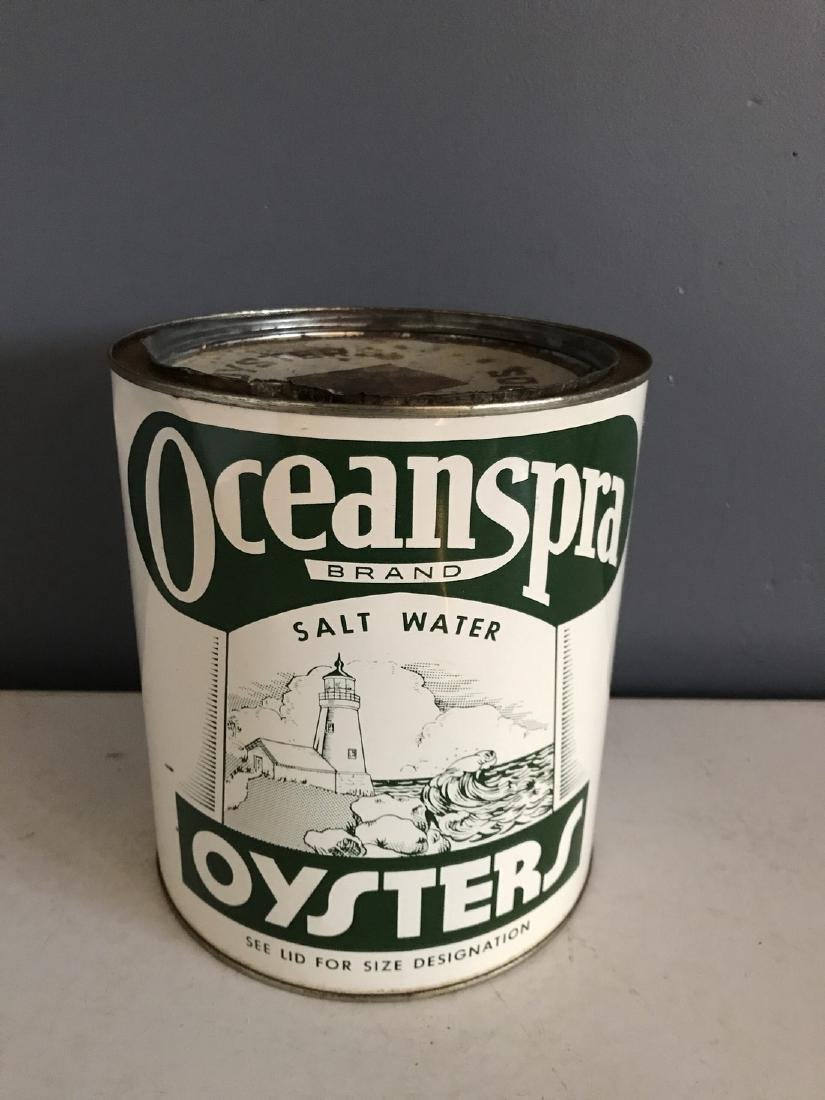 Oceanspra Oysters Tin Can