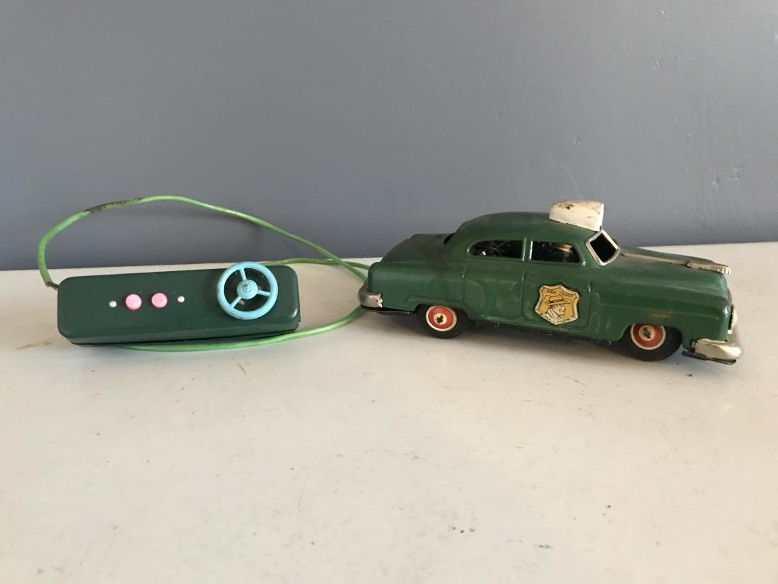 Line MAR Toys Dick Tracy 1949 Battery Op Squad Car - 2