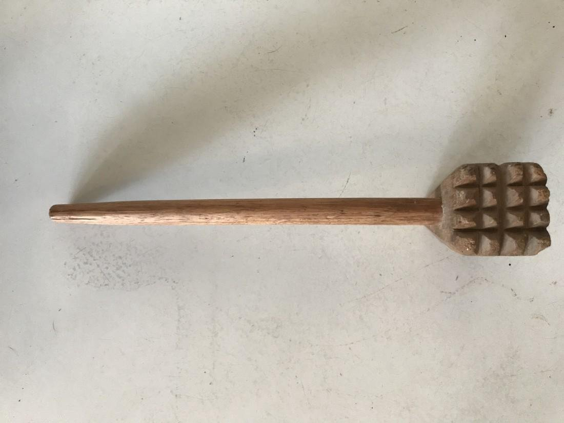Old Farm House Meat Tenderizer Mallet - 4