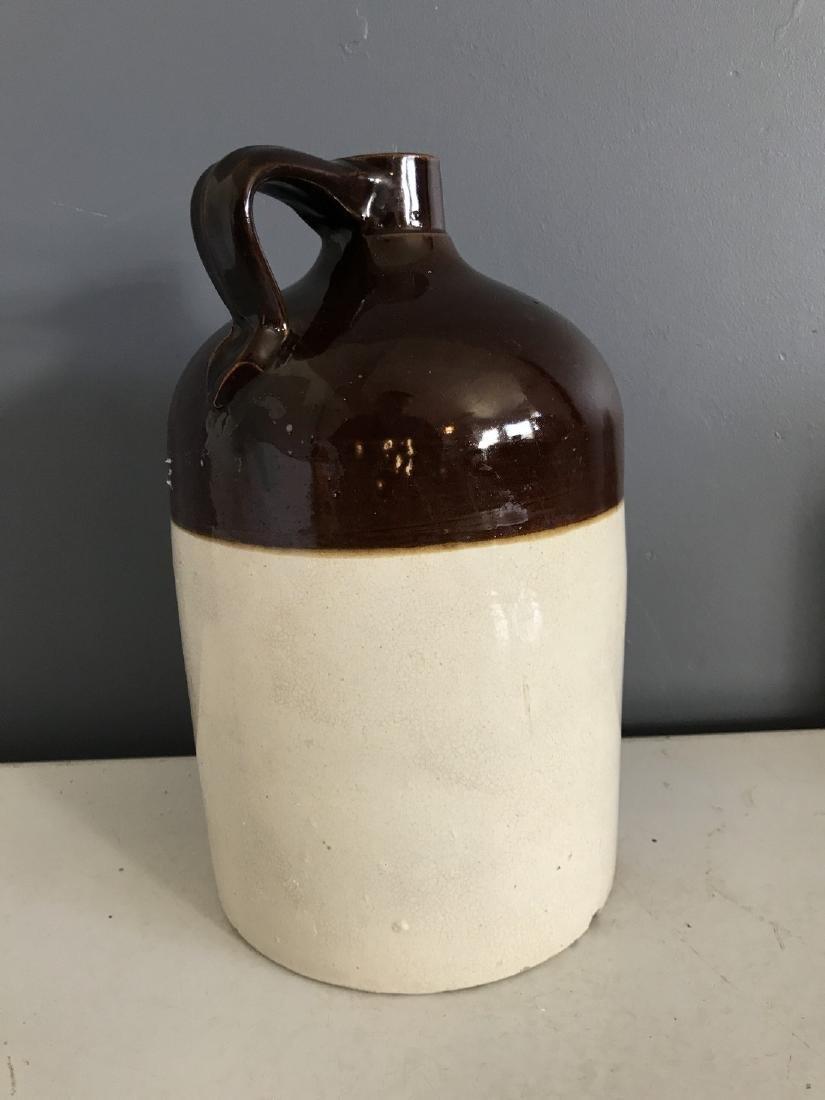 Rare Stoneware R.H. Macy & Co., NY Store Liquor Jug - 2