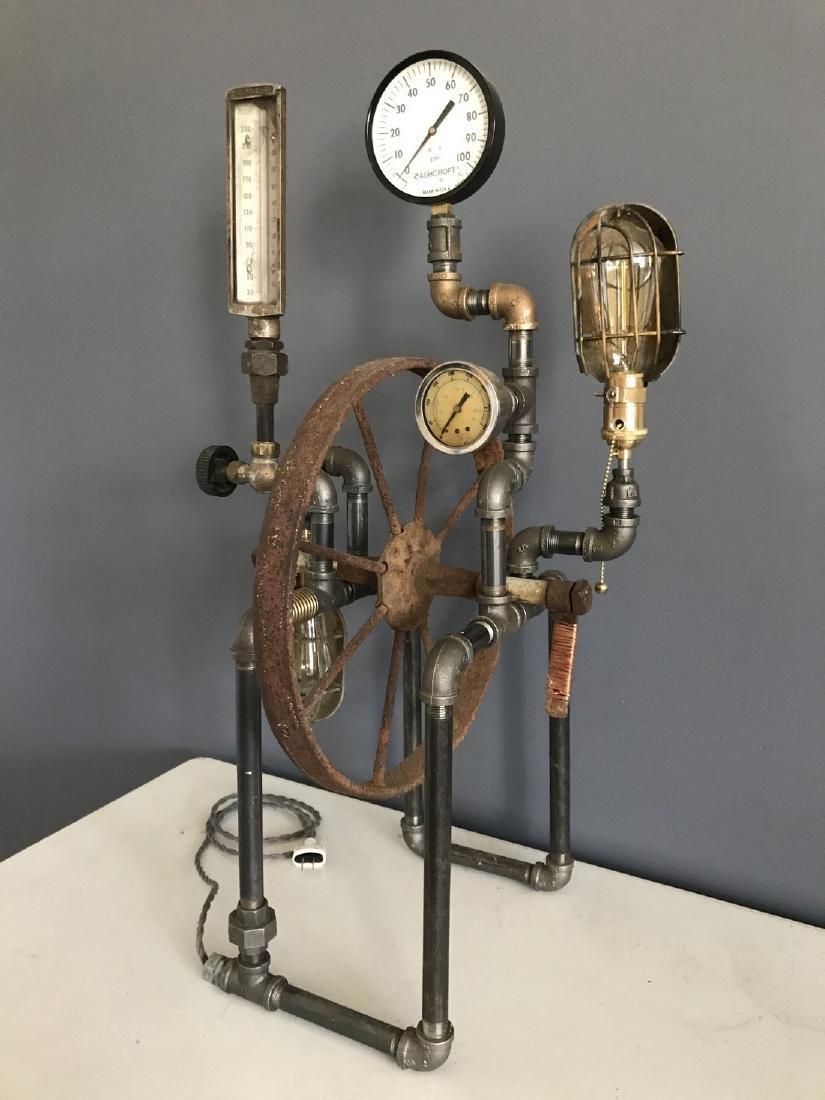 Steam Punk Table Lamp - 3