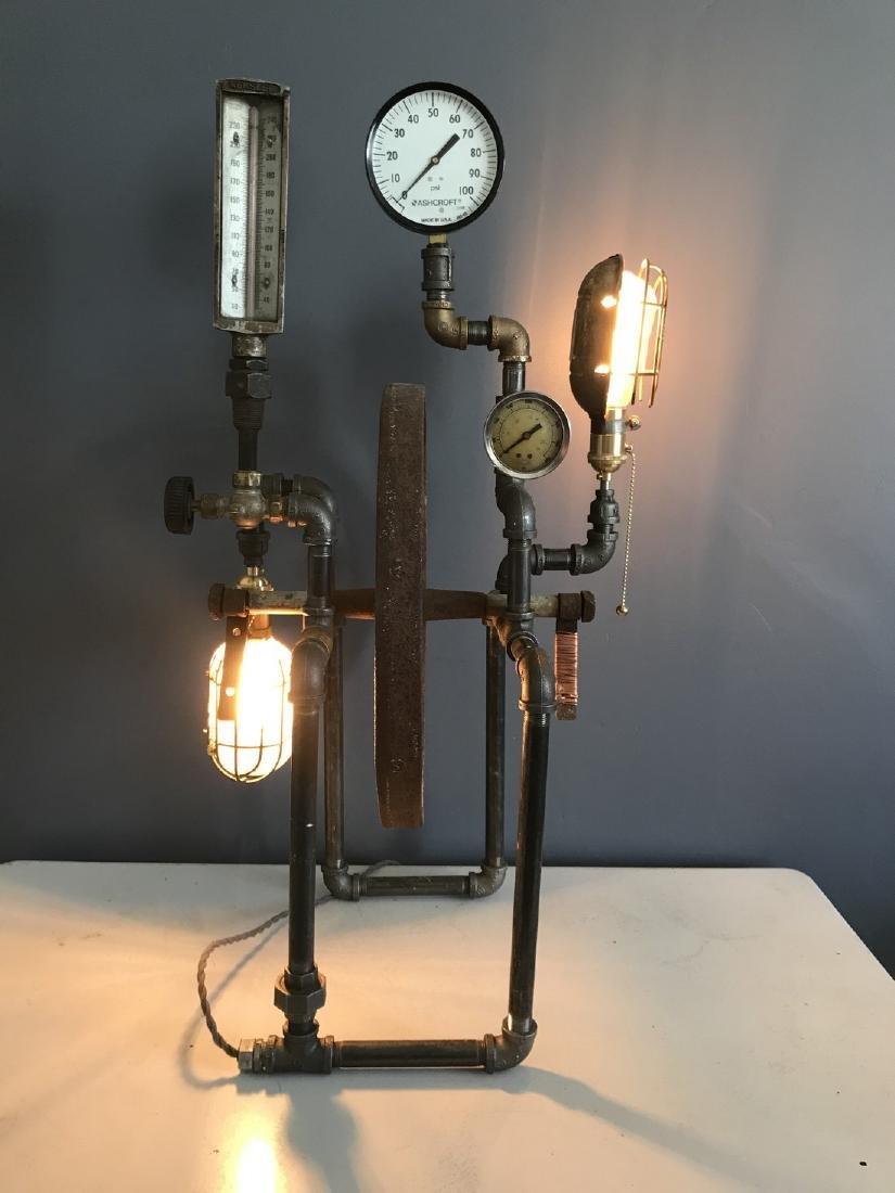 Steam Punk Table Lamp - 5