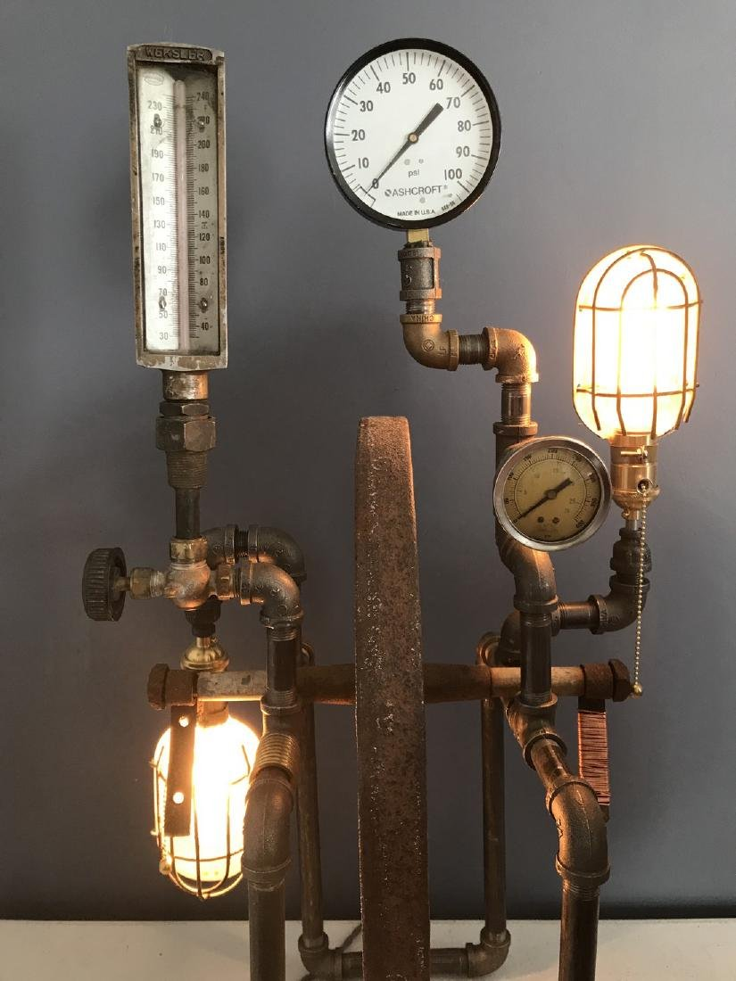 Steam Punk Table Lamp - 6